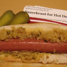 Sauerkraut for Hot Dogs