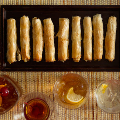 Feta Walnut Date Cigars