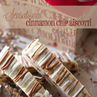 Sensational Cinnamon Chip Biscotti