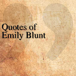Quotes of Emily Blunt APK Image