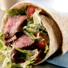 Steak Wraps for the Weight Watcher