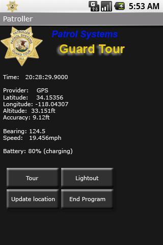 Guard Tour App