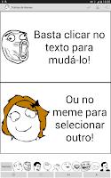 Screenshot of Tirinhas de Memes