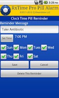 Screenshot of RxTime Pro Pill Reminder
