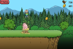 Screenshot of Blaze Runner
