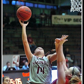 UIndy VS William Jewell womens Basketball 17 by Oscar Salinas - Sports & Fitness Basketball