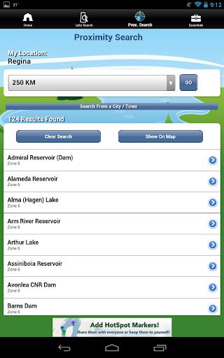 IFish Saskatchewan - screenshot