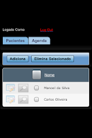 Screenshot of ProntMobile  Prontuário Médico