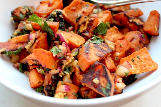 Chili Lime Sweet Potato Salad Recipe | Yummly