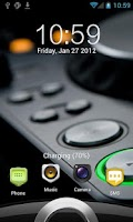Screenshot of Sense 3 full locker theme