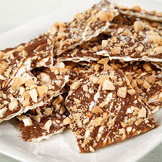 Nutty Chocolate Matzo Crunch