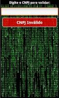 Screenshot of Gerador e Validador CPF e CNPJ
