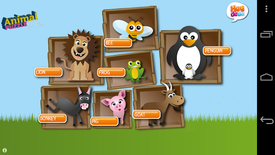 Animal puzzle for Kids FREE - screenshot