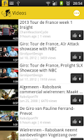 Screenshot of Wielernieuws