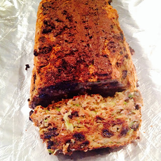 Easiest Moist Banana Zucchini bread (High Fibre, Low-cal, No added sugar, no added fat)