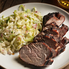 Cocoa-Chile-Rubbed Grilled Pork Tenderloin Recipe