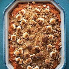 Sweet Potato Casserole With Pecan Crumble