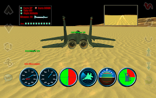 Screenshot of F15 Skies Battle