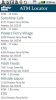Screenshot of Affinity Bank ATM Locator