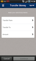 Screenshot of Bridgeview Mobile Banking