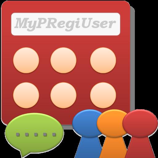 マイPOSレジ顧客(MyPRegiUser) LOGO-APP點子