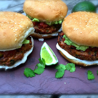 Jalapeno Cheddar Chicken Burgers