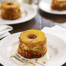 Individual Coconut & Pineapple Upside-down Cakes
