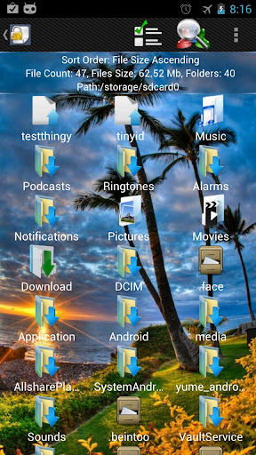 shady-file-manager-root-free for android screenshot