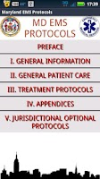 Screenshot of DEMO - MD EMS Protocols