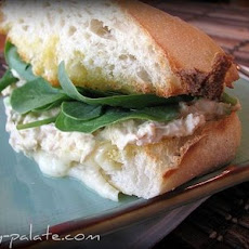 Garlic Toasted Ciabatta Tuna Melt