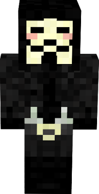 Cool get the cape mod give him a black cape and a hat! RAte