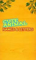 Screenshot of Cute Animal Names Free