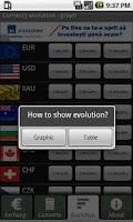Screenshot of Exchange Rates