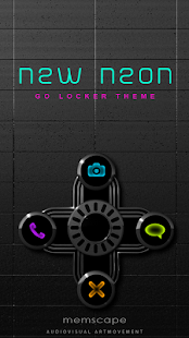 How to download GO Locker NEW NEON Theme v1.0 unlimited apk for pc