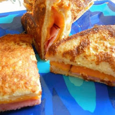 French Toasted Ham n'Cheese