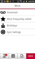 Screenshot of Rogers One Number Contacts