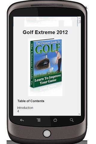 Golf Extreme 2012