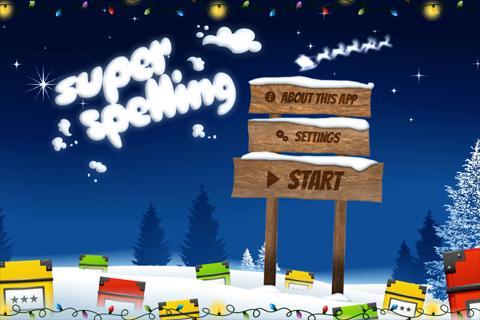 Super Spelling Winter Xmas