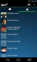 Screenshot of textPlus Int'l Free Messaging