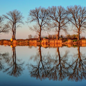 Lake Lajmir. Baranja, Croatia. by Željko Salai - Novices Only Landscapes
