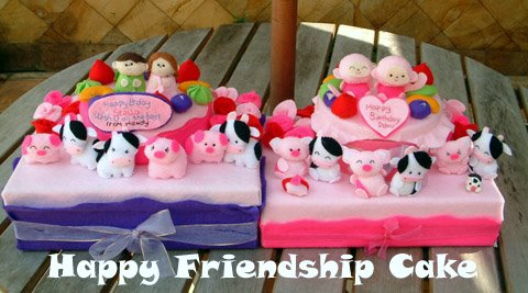 HAppy Friendship cake