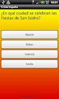 Screenshot of Trivial España
