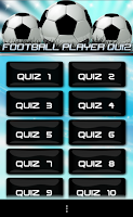 Screenshot of Soccer Players 2014 Quiz