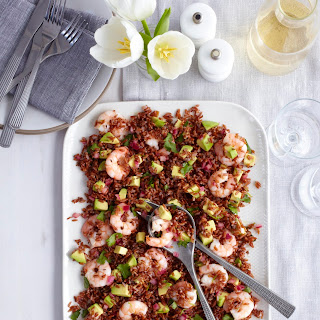 Prawn, Avocado And Red Rice Salad