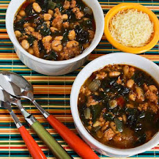 Italian Sausage and Bean Soup with Chard