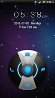Screenshot of GO Locker Galaxy Theme