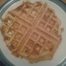 Creamy Cottage Cheese Waffles