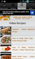 Screenshot of Indian Recipes!