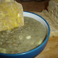 Bean and Leek Soup