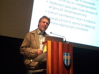 Fulltrúi frá Reykjavíkurborg